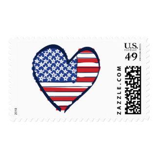 Nosotros-Bandera Timbres Postales