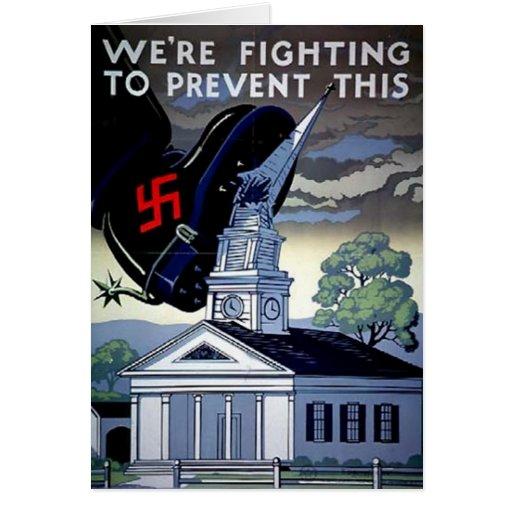 Nosotros ` con referencia a luchar para prevenir e tarjetas