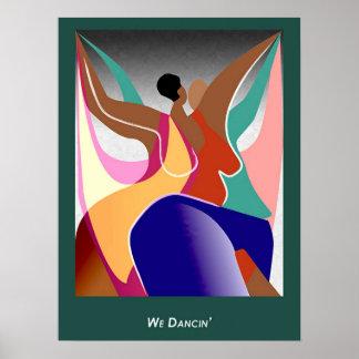 Nosotros Dancin Póster
