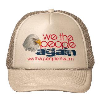 nosotros de la gente el diseño del águila otra vez gorros bordados