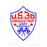 nosotros dragstrip 30 postal