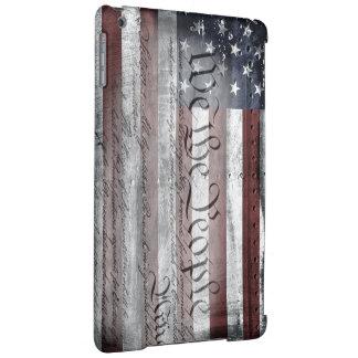 Nosotros el caso del iPad de la bandera americana