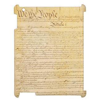 Nosotros el caso del iPad de la constitución de la