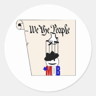 Nosotros el pegatina de la constitución de la