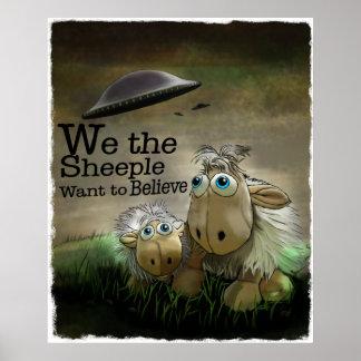 Nosotros el poster de Sheeple
