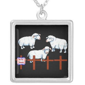 Nosotros el Sheeple Collar Plateado