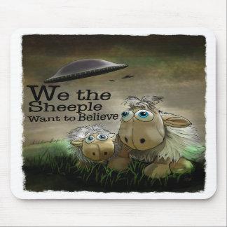 Nosotros el Sheeple Mousepad