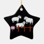 Nosotros el Sheeple Ornamentos De Reyes Magos