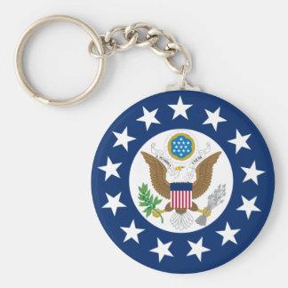 Nosotros embajador, Estados Unidos Llavero Redondo Tipo Pin