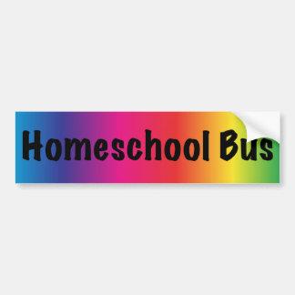 Nosotros Homeschool aquí Pegatina Para Auto