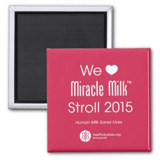 Nosotros imán del paseo de la leche del milagro