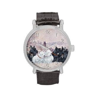 Nosotros invierno cinco relojes de mano