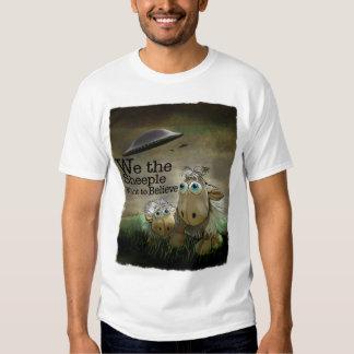 Nosotros la camiseta de Sheeple Polera