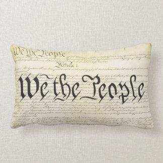 Nosotros la constitución de los E E U U de la gen Cojines