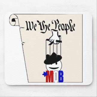 Nosotros la constitución Mousepad de la multitud