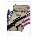 (Nosotros la gente) 2dos armas de la enmienda del  Pizarras