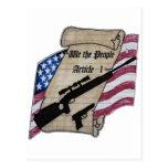 (Nosotros la gente) 2dos armas de la enmienda del  Postal