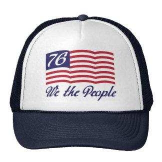 Nosotros la gente '76 gorras de camionero