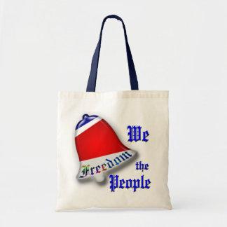 Nosotros la gente bolsa de mano