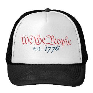 Nosotros la gente est. 1776 gorras