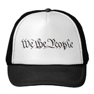 Nosotros la gente gorras