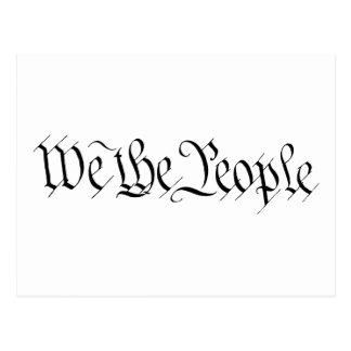 Nosotros la gente postales