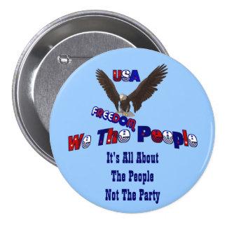 Nosotros la gente todo sobre el Pin del botón de l