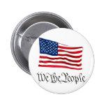"""""""Nosotros la gente"""" w/Flag Pins"""