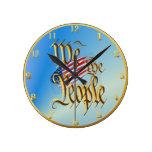 Nosotros la gente Wallclock Relojes De Pared