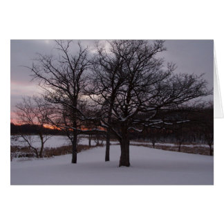Nosotros tres árboles…. tarjeton