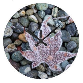 Nosotros, Wa, isla de Bainbridge. Madrugada Frost Reloj Redondo Grande