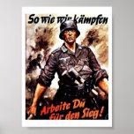 Nosotros Wie Wir Kampfen Poster