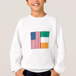 Nosotros y banderas de Irlanda Camisas