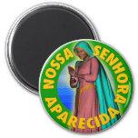Nossa Senhora Aparecida 2 Inch Round Magnet