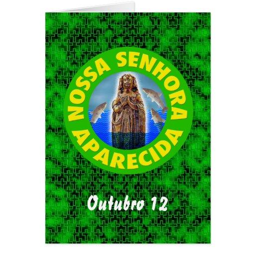 Nossa Senhora Aparecida Greeting Cards