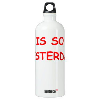 NOSTALGIA ALUMINUM WATER BOTTLE