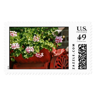 Nostalgia and Flowers Stamps