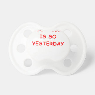 NOSTALGIA BABY PACIFIERS