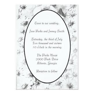 Nostalgia Daisies Wedding Invitation