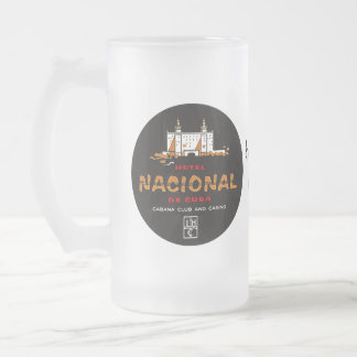Nostalgia de lujo del viaje del HOTEL NACIONAL DE  Tazas