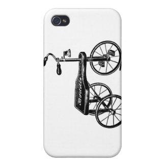 Nostalgia del triciclo del juguete del vintage iPhone 4/4S carcasa