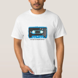 Nostalgia for the old days - Cassette Blue Playeras