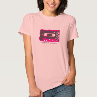 Nostalgia for the old days - Cassette Pink Playeras