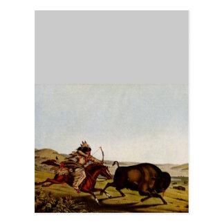 Nostalgia occidental tarjeta postal