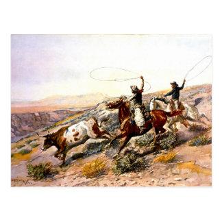 Nostalgia occidental tarjetas postales