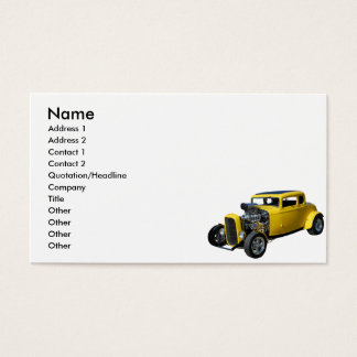 Nostalgia Rod Business Card