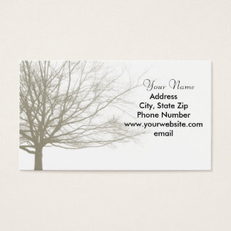Nostalgia Tree Business Card