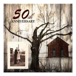 nostalgia tree farmhouse country 50th anniversary announcement