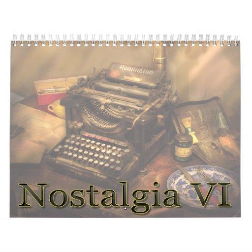 Nostalgia VI Calendar