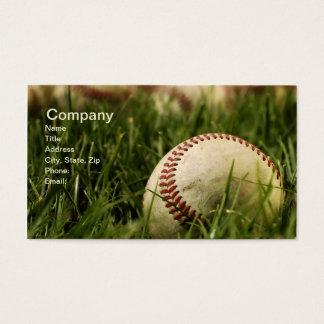 Nostalgic Baseballs Business Card